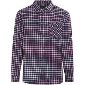 Jack Wolfskin Fraser Island Shirt Men night blue checks